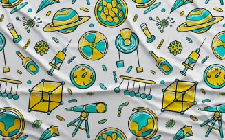 Science #02 - Vector Seamless Pattern