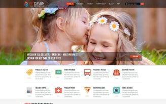 Caven Multi-Purpose Free Joomla Template