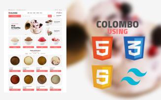 Colombo - Ice Cream Shop | Multipurpose Website template for Online Store/e-Commerce