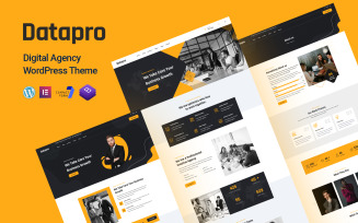 Datapro - Digital Agency Elementor WordPress Theme