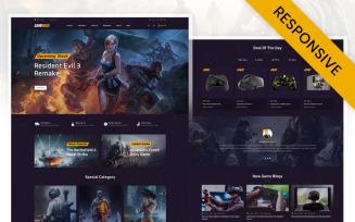 GameHoak - Best Game Store Opencart Responsive Theme