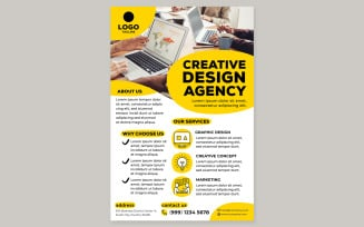 Creative Agency Poster #05 Print Template