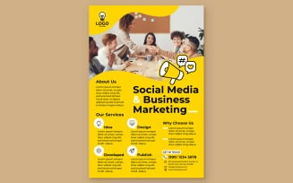 Creative Agency Poster #09 Print Template