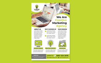 Creative Agency Poster #10 Print Template