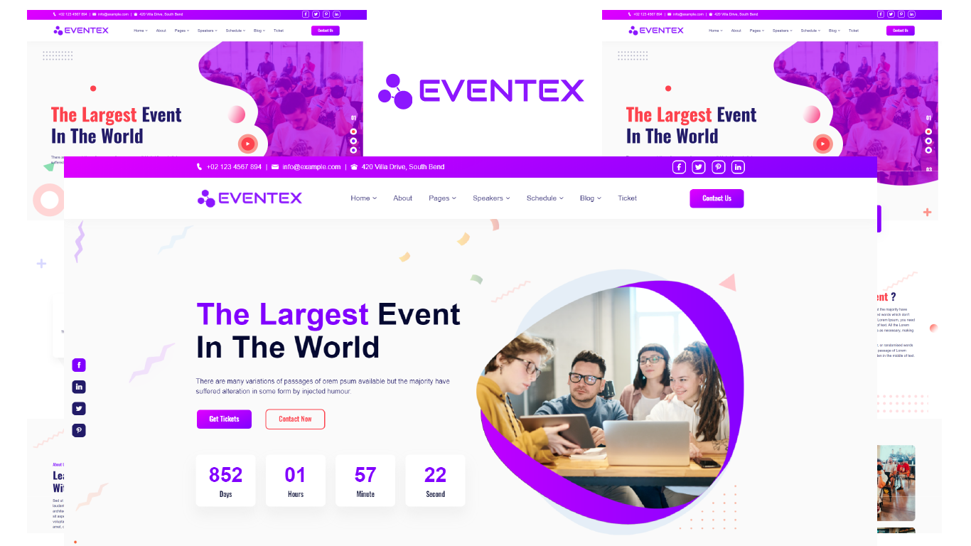Eventex - Event & Conference HTML5 Template