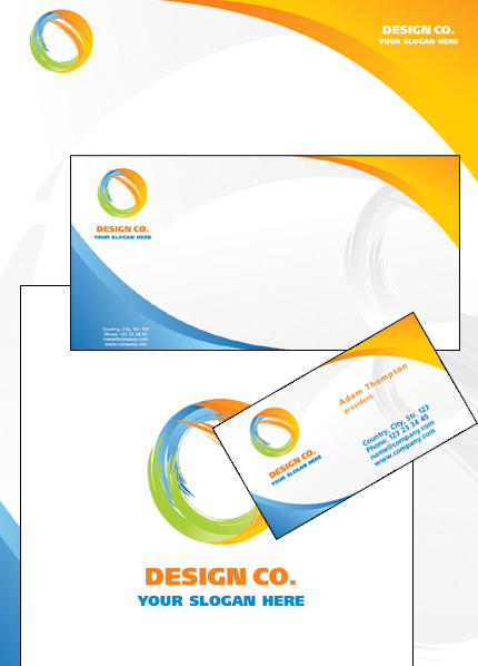 Design Studio Corporate Identity Template Vector Corporate Identity preview
