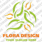 Flowers Logo  Template 19728