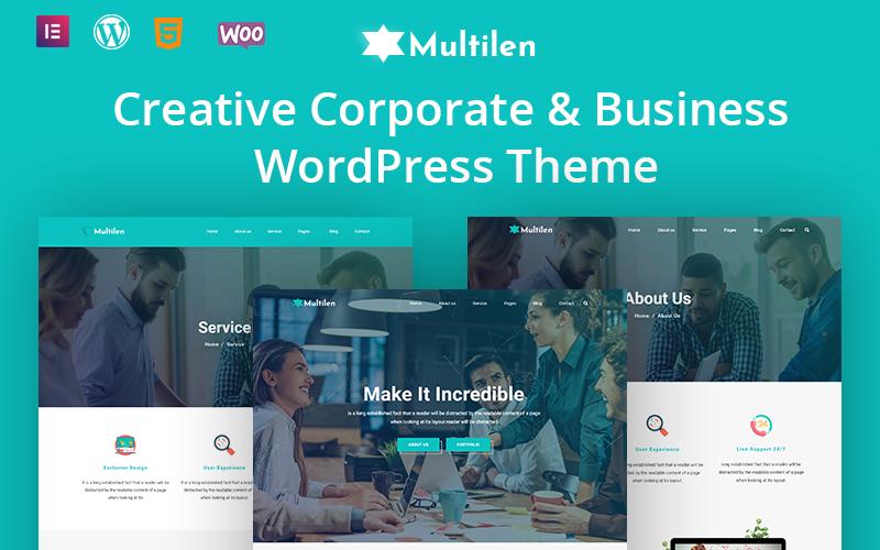 Multilent Creative Corporate & Business WordPress Theme