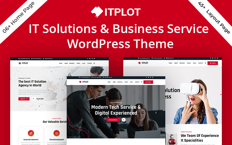 IT-Plot - IT Solution & Business Consulting WordPress Theme