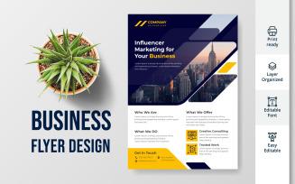 Business Consultation Flyer Design
