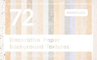 72 Decorative Paper Backgrounds Textures