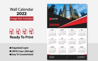 2022 Wall Calendar / Design Planer