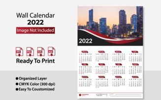 2022 Business Wall Calendar / Design Planer