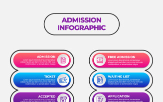 Education Infographic Design Template With 10 Options Or Steps