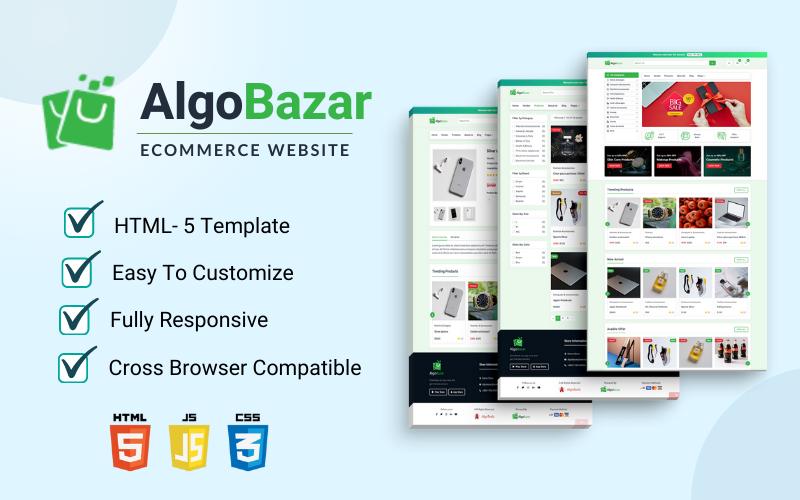 AlgoBazar - A Multivendor E-commerce Website