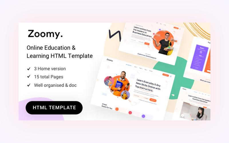 Zoomy - Education HTML Template