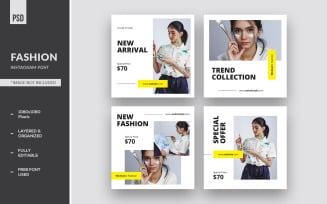 Minimalist Fashion Instagram Post Social Media Banner
