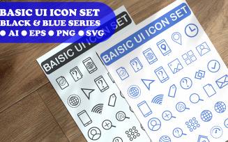 Basic Ui Icon Set Template