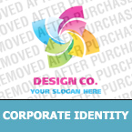 Web design Corporate Identity Template 19840