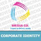 Media Corporate Identity Template 19842