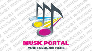Music Logo Template vlogo