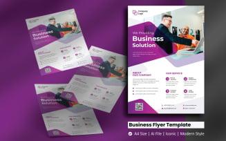 Branding Business Flyer Corporate Identity Template
