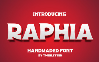 Raphia Special Display Font