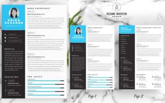 Susanne / Resume Template