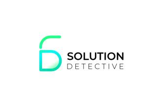 D S Gradient - Futuristic Logo