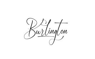 Burlington Handwriting Font
