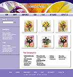 denver style site graphic designs flowers beautiful presents bouquets present