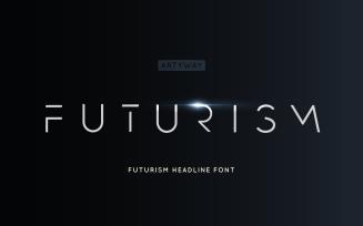 Futurism Headline and Logo Font