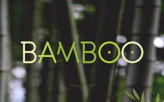 Bamboo Headline and Logo Font