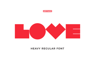 Robot Love Font for Unusual Headline and Logo