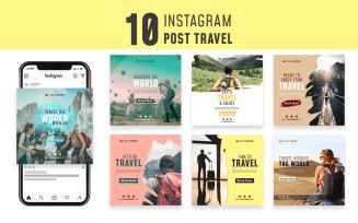Sonder - Travel Instagram Post Template