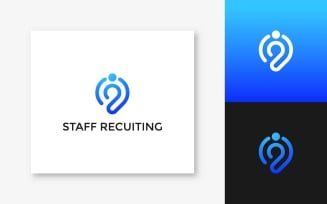 Staff Recuiting – Logo Template