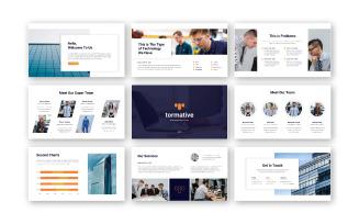 Tormative – Creative Business Google Slides Template