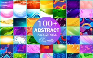 Abstract Backgrounds Bundle, Abstract Background Collection, Web Background, Banner Background.