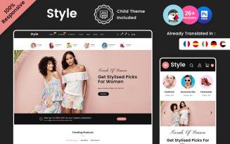 Style – Fashion and Beauty Multipurpose Prestashop Store