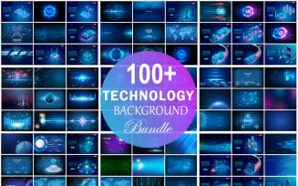 Technology Background Bundle, Technology Abstract Background Bundle, Web Background