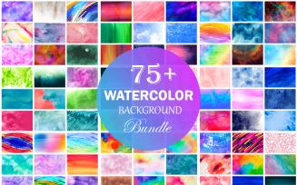 Watercolor Background Bundle, Watercolor Texture Background Bundle.