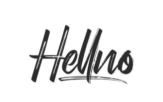 Hellno Dry Brush Script Font