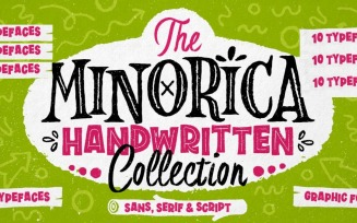 Minorica The Ultimate Halloween Font Collection
