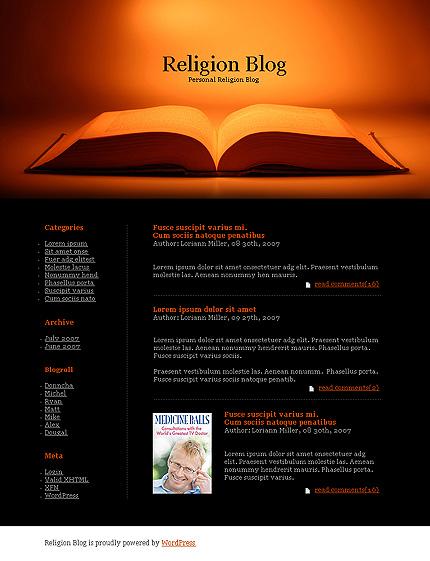 Тема (шаблон) для Wordpress (20116)