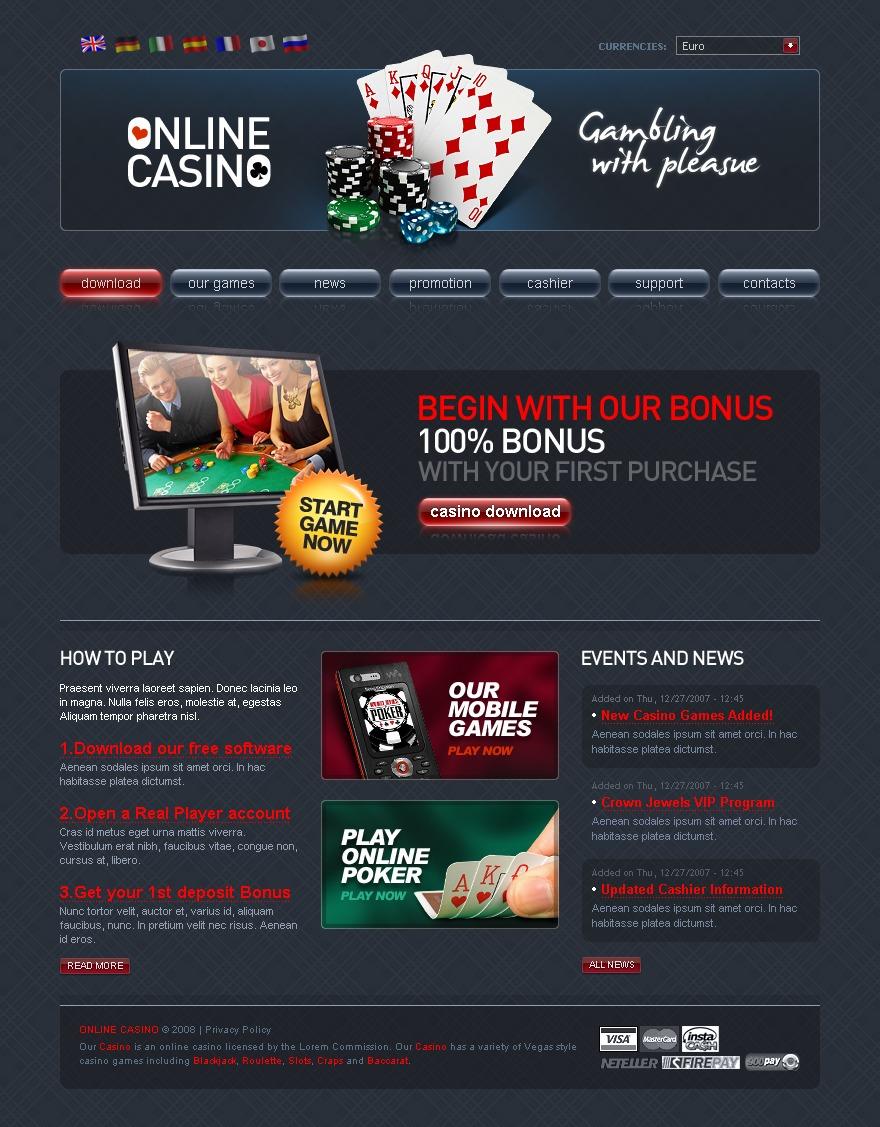 создать казино онлайн