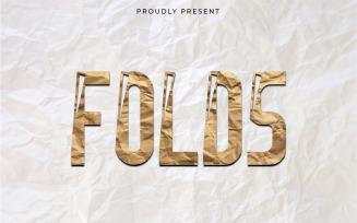 Folds New Modern Display Font