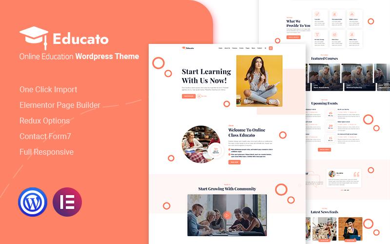 Tema para wordpress - Categoría: Educación - versión para Desktop