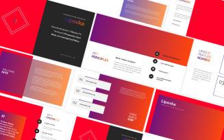 Lipovka Creative Agency Googleslides Template