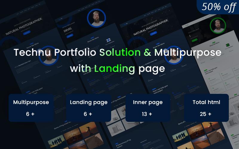 Technu - Portfolio Solution & Multipurpose Website Template