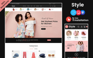 Style – Fashion and Beauty Multipurpose Opencart Store